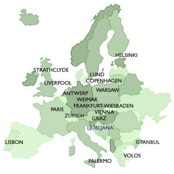 Antwerp Map Europe.Antwerp Map Europe